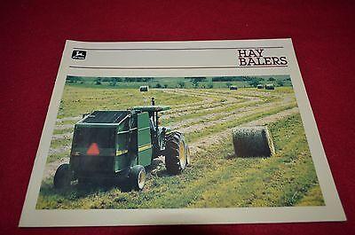 John Deere 327 337 347 467 Baler 330 430 530 Round Baler Dealers Brochure DCPA