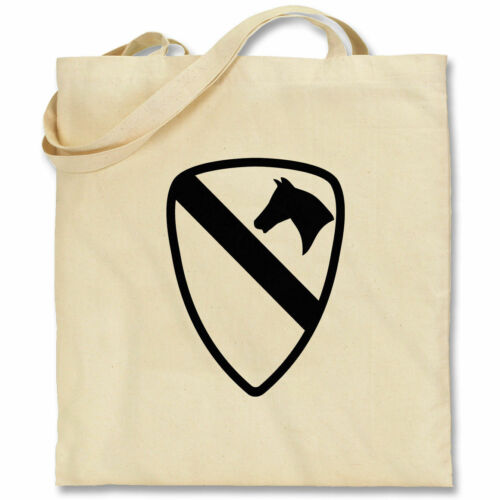 NEW 1st Cavalry Tote Bag Army Military Infantry Team Shopping Shoulder Bag