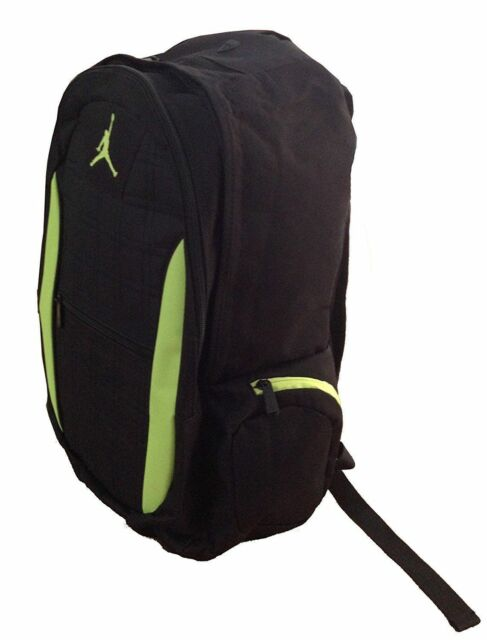 18586e8ce496 Nike Jordan Jumpman Backpack Laptop School Bag 9a1137 Black red for ...