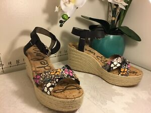 384cee2a1f6 Details about Sam Edelman Destin Espadrille Wedge Heels Womens Sz 11 M  Floral new #k11