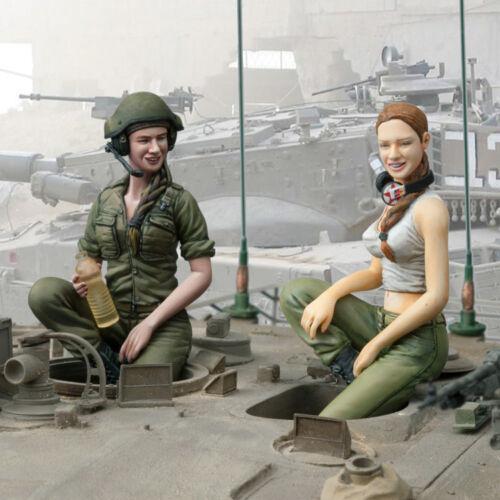 les FDI Female Tank Crew 3 MM227 Sol en résine Factory 1:16