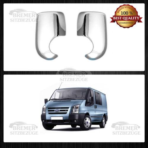 Ford Transit CHROM ABS Spiegelkappen Blenden ab Bj 2000-2013 1068