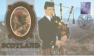 8-JUNE-1999-SCOTLAND-E-SIGNED-BY-MSP-DAVID-McLETCHIE-BENHAM-SILK-FDC-SHS