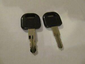 2 Keys CW431 FIC Entry Door Lock Handle Knob Deadbolt RV