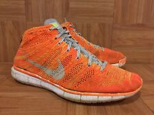 a83824f22ba8c6 item 2 RARE🔥 Nike Free Flyknit Chukka PR QS Total Orange Grey 639700-800  Sz 11 -RARE🔥 Nike Free Flyknit Chukka PR QS Total Orange Grey 639700-800  Sz 11