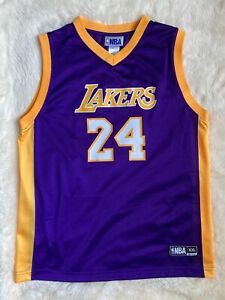 Details about NBA Youth Girls XXL 18 Kobe Bryant #24 Los Angeles Lakers Jersey Basketball