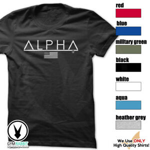 ALPHA-Gym-Rabbit-T-Shirt-7-colors-Workout-Bodybuilding-Fitness-Lifting-D135
