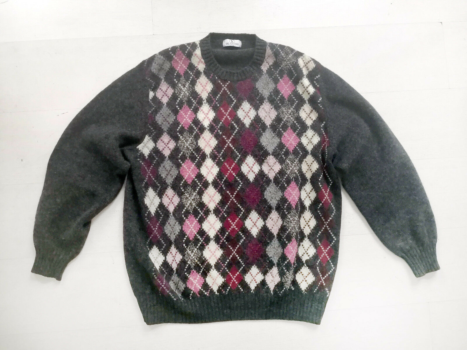 VALENTINO soft 100% virgin wool sweater , Größe L