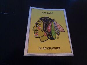 1988-89 Panini NHL Hockey Sticker #18 Chicago Black Hawks Logo - NR-MT