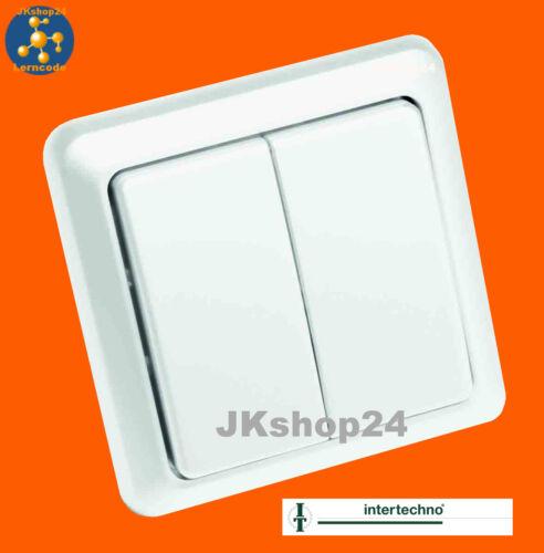 Intertechno itw-852 DOUBLE-FUNK-wandsender Télécommande store store volet roulant Lumière