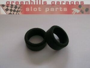 Greenhills-Scalextric-Team-Pro-GT-Front-Tyre-Pair-Used-P5744