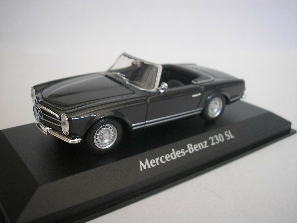 MERCEDES MERCEDES MERCEDES BENZ 230SL 1965 gris 1 43 maxichamps 940032231 NUEVO 5381e7