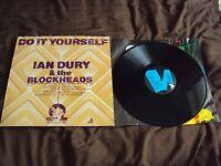 IAN DURY & THE BLOCKHEADS DO IT YOURSELF VINYL LP PUNK NEW WAVE STIFF