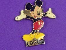 pins pin montre watch mickey disney  lorus