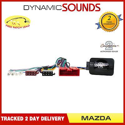 Adaptador para controlar la Radio Desde el Volante para Mazda 2 a Partir del a/ño 2005 a Partir del a/ño 2008 6 5 MX5 3 Pioneer