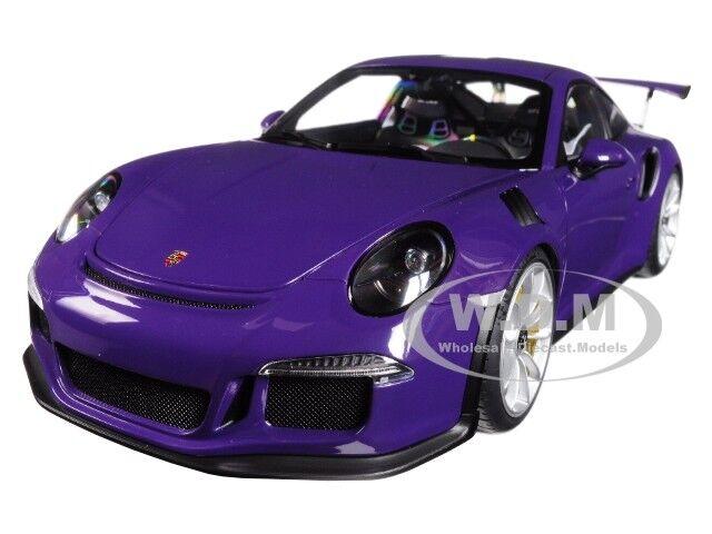 Porsche 911 (991) GT3 Rs Ultra Violeta 1/18 Modelo Coche por Autoart 78169