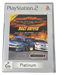 V8 Supercars Australia Race Driver PS2 (Platinum) PAL *Complete*
