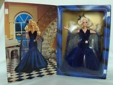 Barbie - Society Style Collection - Sapphire- Dreams - Ltd Ed #1- Doll 1995 Blue