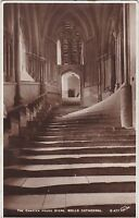 The Chapter House Steps, The Cathedral, WELLS, Somerset RP