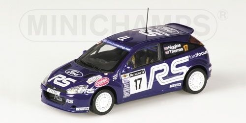 Ford Focus Rs Wrc Higgins Thomas Rac 2001 1:43 Model MINICHAMPS | Good Design