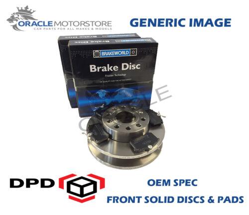 OEM SPEC FRONT DISCS PADS 247mm FOR CITROEN SAXO 1.1 1996-03 OPT2