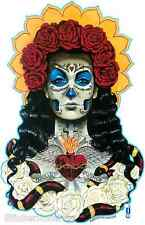 Amor Sticker Decal Folk Tattoo Art Day of The Dead DIa De Los Muertos Gustavo G1
