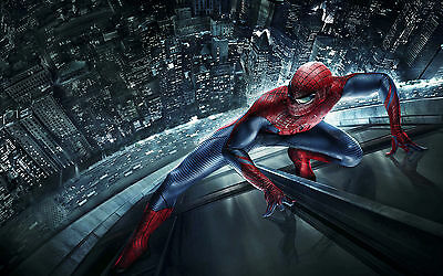 Spiderman Home Decor Canvas Print, choose your size.