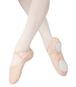 Freeshipping-New-Canvas-Split-Sole-Ballet-Slippers-Dance-Shoes-Quality-Assured