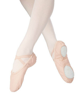 Freeshipping New Canvas Split Sole Ballet Slippers Dance Shoes - Quality Assured