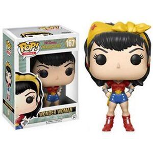 DC-Bombshells-Wonder-Woman-Pop-Vinyl-Figure-NEW-UNOPENED