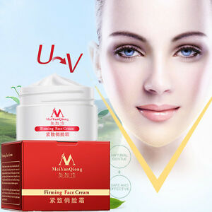V-Shape-Face-Line-Lift-Firming-Collagen-Cream-Double-Chin-Cheek-Slimming-40g