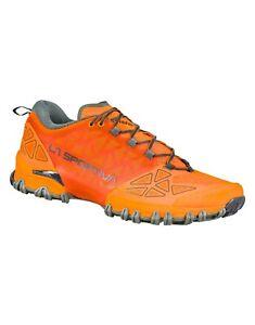 La Sportiva bushido II scarpa uomo mountain trail running arancione tiger clay