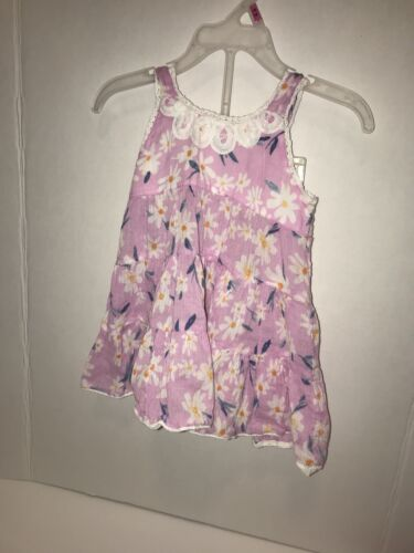 Size 12M Mimi /& Maggie Purple Baby Flower Dress With Bloomers