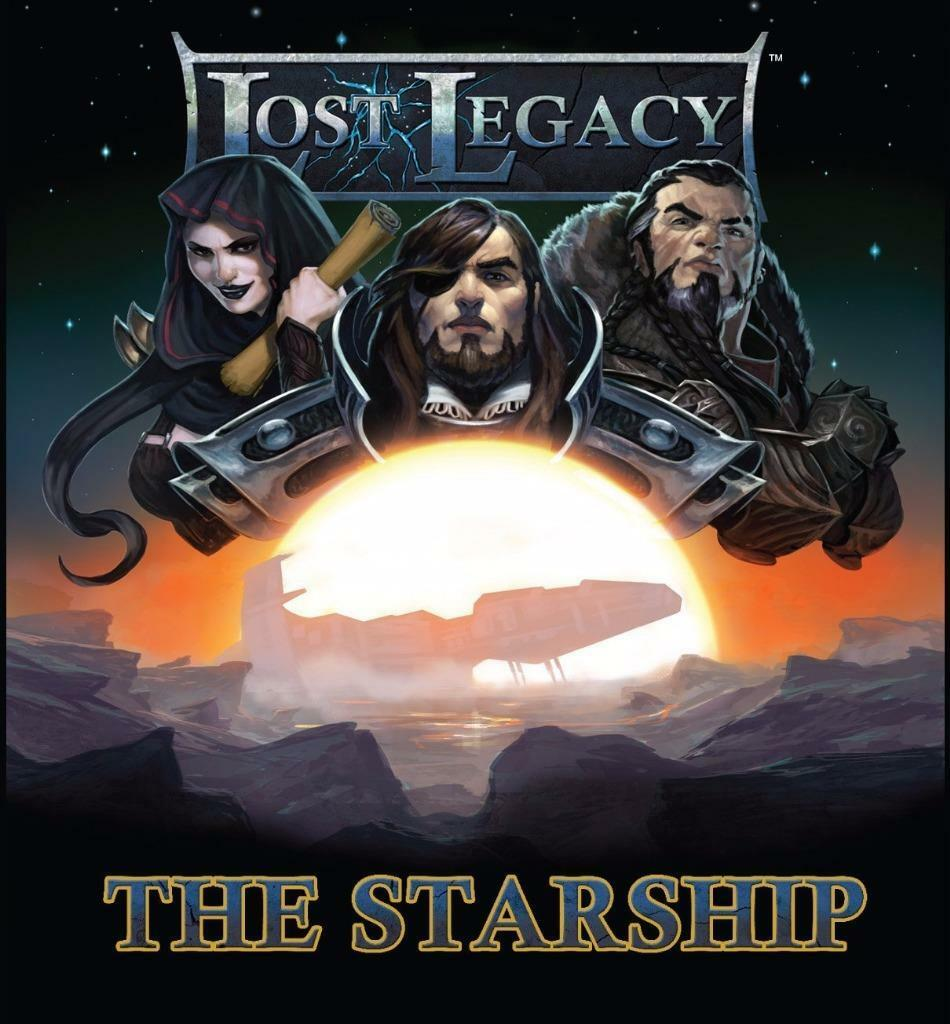 Lost The Legacy 1 The Lost Starship Game by Alderac Entertainment Group AEG 5811 8f0a54