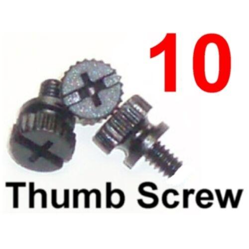 """Computer Case Screw Hard Drives PCI Slot Nylon Plastic 6//32/"""" Thumb Screws"""