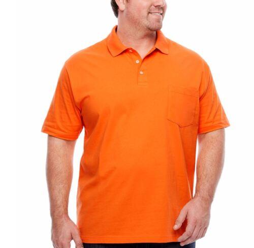 Foundry Men/'s Shirt SS Polo LT XLT 2XL 2XLT 3XL 3XLT 4XL 4XLT 5XL New