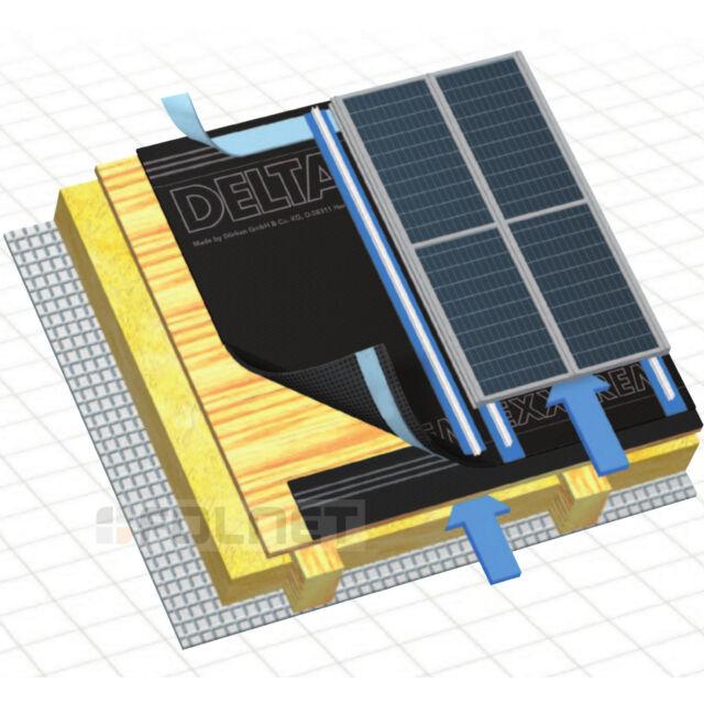 Cubierta Inferior Carretera Delta Exxtrem 60m2 Para Solar 300g / m2 3-lagig SD =