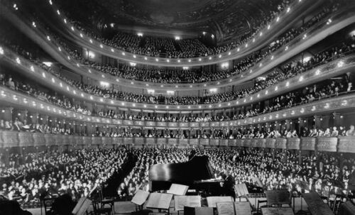 Opera house concert hall 1937 old style photo self adhesive wallpaper wall mural