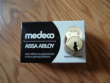 NEW MEDECO LOCK CYLIONDER 32S SUB ASSEMBLED 6 PIN FREE SHIPPING