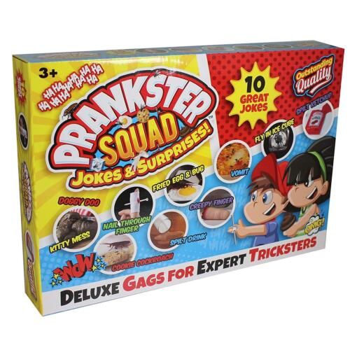 10pcs Assorted PMS 611049 Deluxe Prankster Squad Box of Jokes