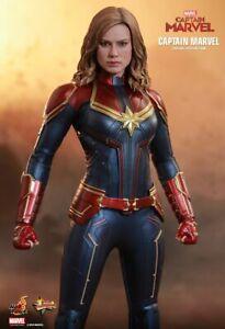 Hot Toys 1 6 Mms521 Captain Marvel Captain Marvel Ebay
