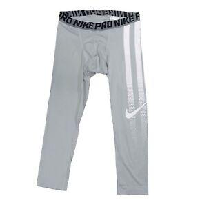 600b4b85268ff Nike Pro Men's 3/4 Football Tights 837181 XL | eBay