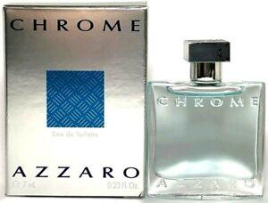AZZARO-CHROME-Eau-De-Toilette-MINI-SPLASH-FOR-MEN-0-23-Oz-7-ml-BRAND-NEW-ITEM