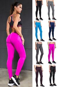 6188938ab1 Image is loading Women-039-s-Workout-Compression-Leggings-Fitness-Running-