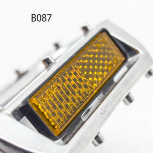 "Durable bike Pedals B087 9//16/"" Silver Flat//Platform for BMX//Mountain Bike Pedals"