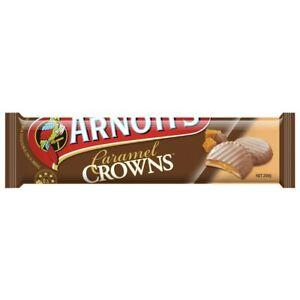 Arnott's Caramel Crowns Chocolate Biscuits 200g