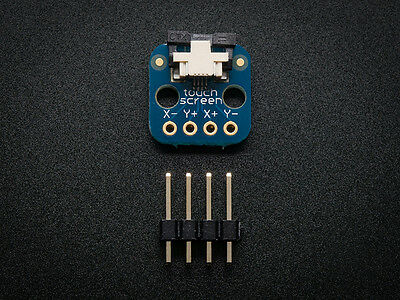 Adafruit Touch screen connection breakout board 0.5mm FPC - Arduino X- Y+ X+ Y-