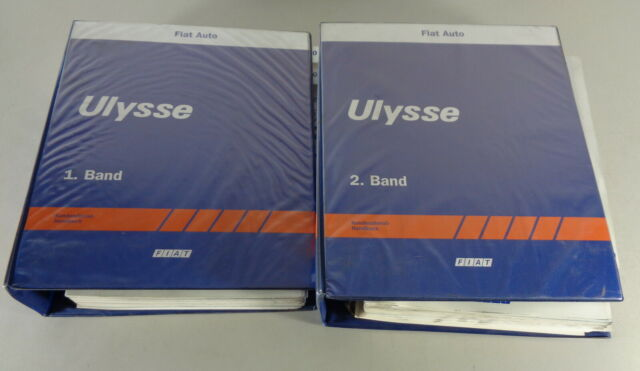 Workshop Manual  Repair Manual Fiat Ulysse In 2 Volumes