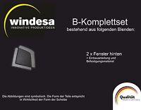 Sonniboy Auto Sonnenschutz Skoda Roomster B-Set