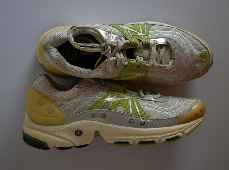 Brooks Womens Trance 6 Running Sneaker shoes Green 9.5
